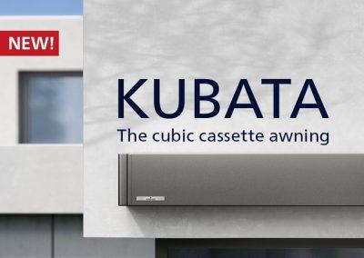 Kubata – El toldo cofre cúbico de diseño